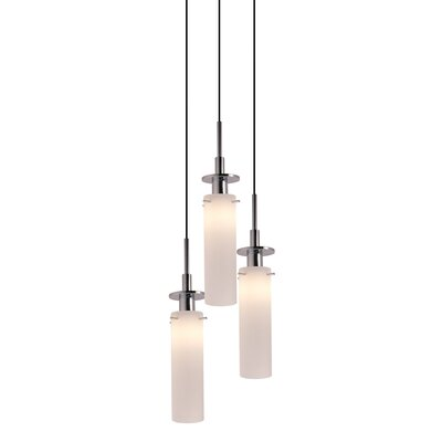 Candle 3-Light Pendant Finish: Polished Chrome