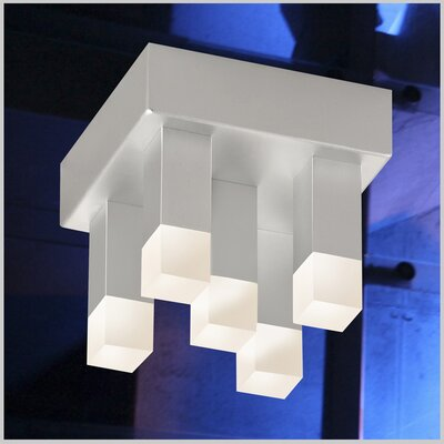 Connetix 5-Light Flush Mount