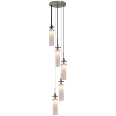 Candle 5 Light Pendant Finish: Polished Chrome