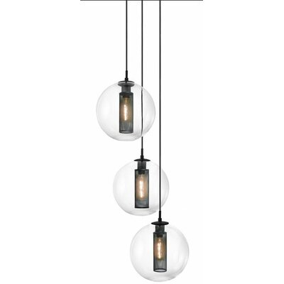 Tribeca 3-Light Pendant Size: 12