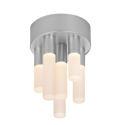 Staccato 6-Light Flush Mount