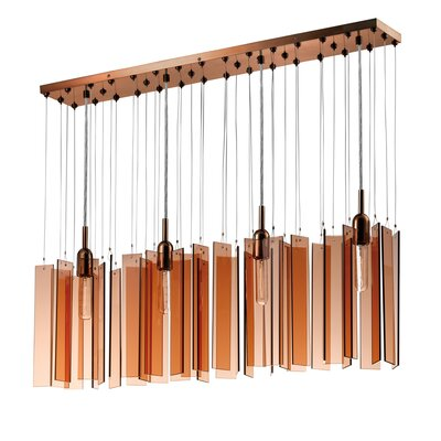 Chimes 4-Light Pendant