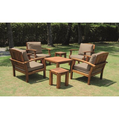 Flint 7 Piece Seating Group with Cushion