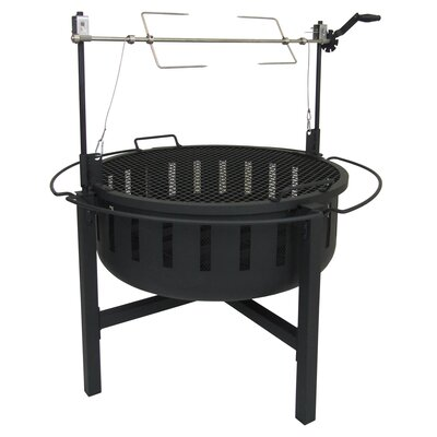 """Landmann 43"""" Charcoal Grill with Side Shelves 23960"""
