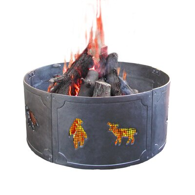 Rent to own Big Sky Wildlife Fire Ring...