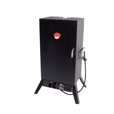 Smoky Mountain Vertical Gas Smoker with Wide Chamber
