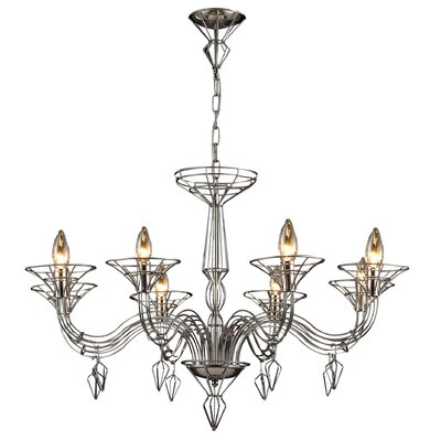 Couture 8-Light Candle-Style Chandelier