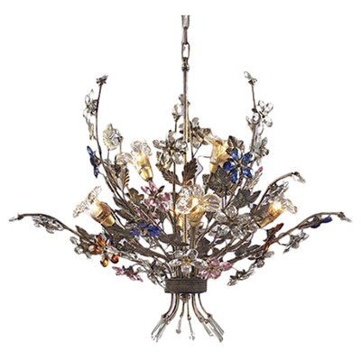 Brillare 6-Light Candle-Style Chandelier