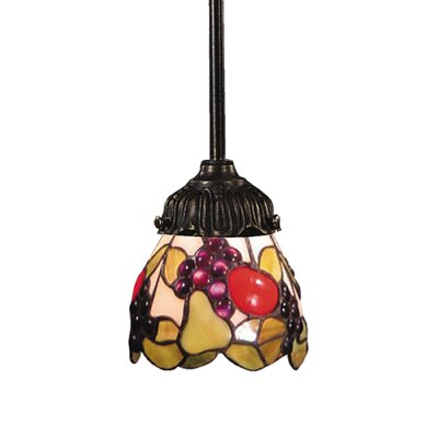 Appletree 1-Light Mini Pendant Bulb Type: 75W Med. Bulb