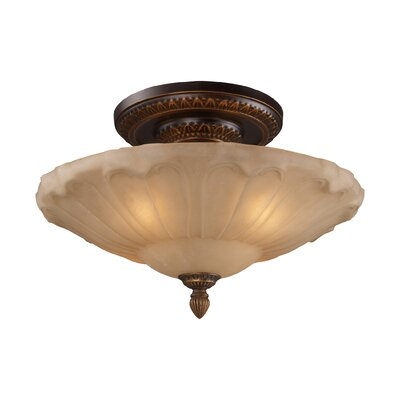 Barling 4-Light Semi-Flush Mount