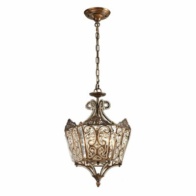 Lundstrom 6-Light Foyer Pendant Color: Spanish Bronze