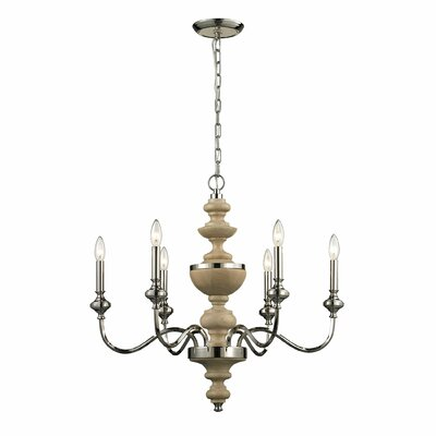 Stratford 6-Light Candle-Style Chandelier