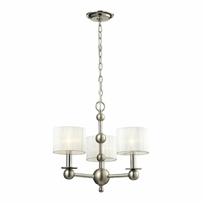 Madera 3-Light Drum Chandelier