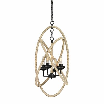Pearce 4-Light Foyer Pendant