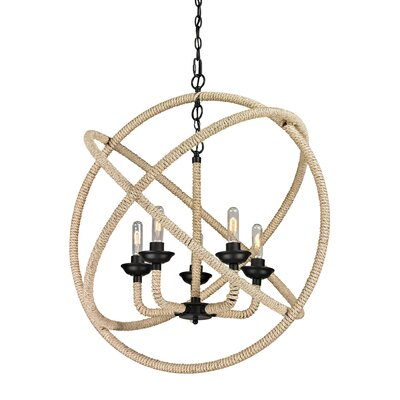 Crosslin 5-Light Candle-Style Chandelier