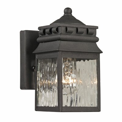 Forged Lancaster 1-Light Outdoor Wall Lantern