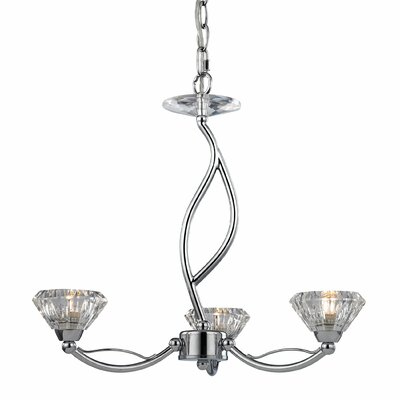 Kirkwood 3-Light Shaded Chandelier