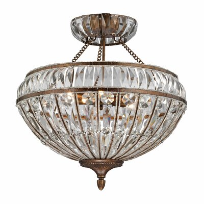 Empire 6-Light Semi Flush Mount