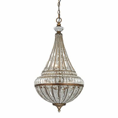 Empire 6-Light Crystal Pendant
