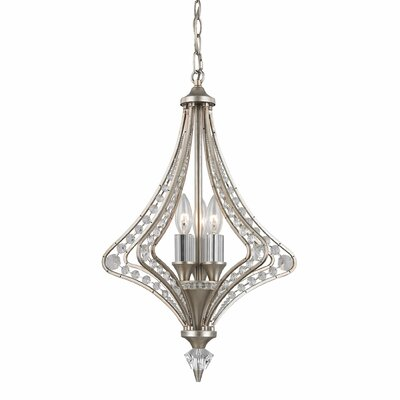 Sasha 3-Light Foyer Pendant