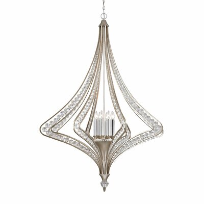 Sasha 8-Light Foyer Pendant
