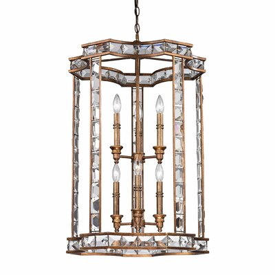 Lunn 6-Light Foyer Pendant