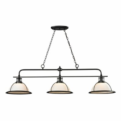 Wilmington 3-Light Kitchen Island/Billiard Pendant Bulb Type: 100W Med. Bulb