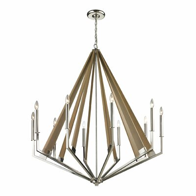 Madera 10-Light Candle-Style Chandelier