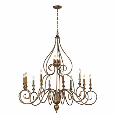 Hamilton 15-Light Candle-Style Chandelier