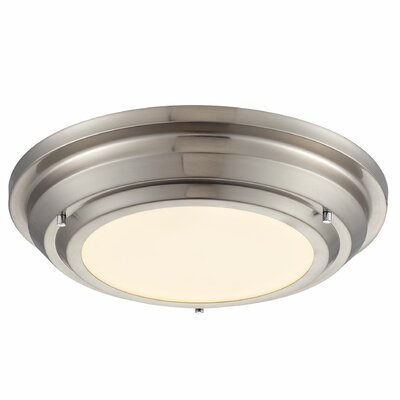 Sonoma Flush Mount Finish: Brushed Nickel