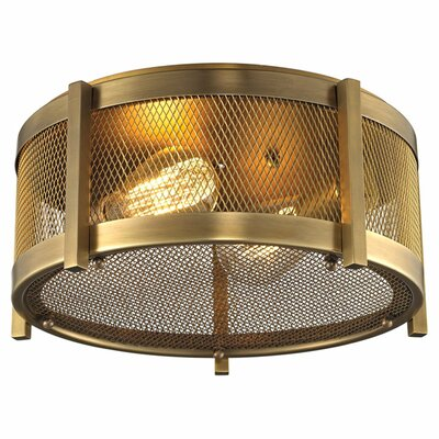 Rialto 2-Light Flush Mount