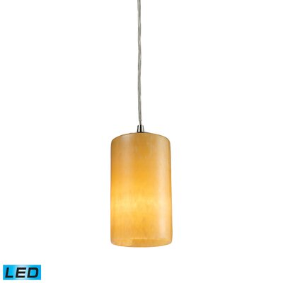 Piedra 1-Light Drum Pendant Bulb Type: LED