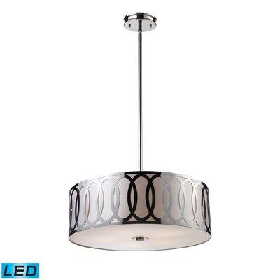 Anastasia 5-Light Drum Pendant Bulb Type: LED