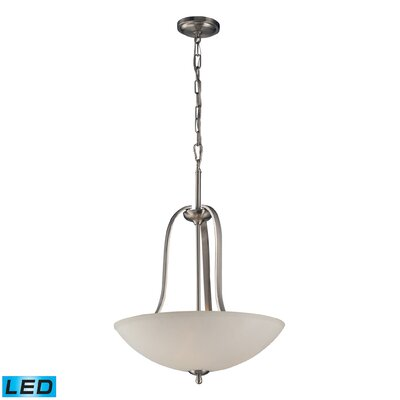 Westrick 3-Light Bowl Pendant Bulb Type: LED