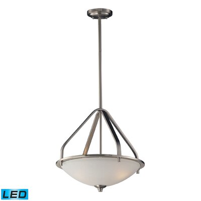 Westphal 3-Light Bowl Pendant Bulb Type: LED