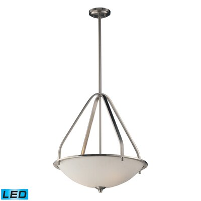 Westra 3-Light Bowl Pendant Bulb Type: LED