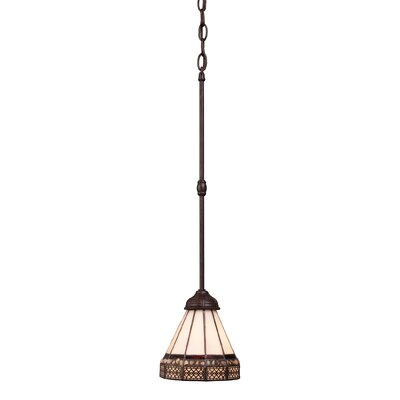 Bigley Stone 1-Light Mini Pendant