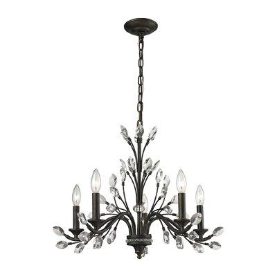 Hammel 5-Light Candle-Style Chandelier