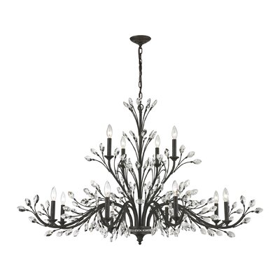 Branches 12-Light Candle-Style Chandelier