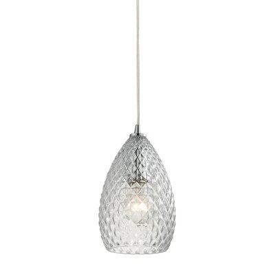Greensboro 1-Light Mini Pendant Finish: Polished Chrome