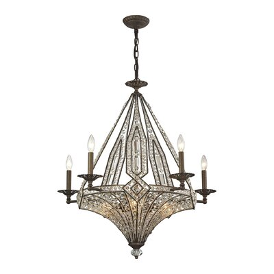 Jausten 10-Light Crystal Chandelier