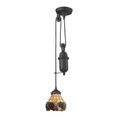 Pendarvis Pulldown 1-Light Mini Pendant