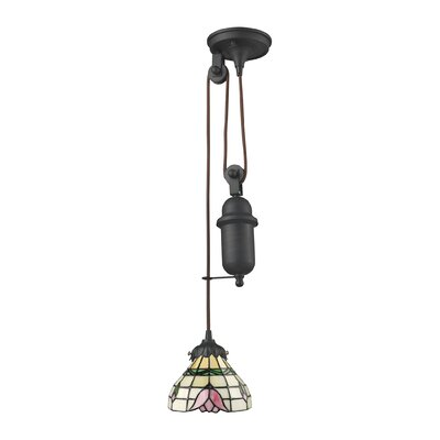 Tiffany Pulldown 1-Light Mini Pendant