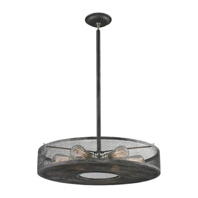 Slatington 6-Light Drum Pendant