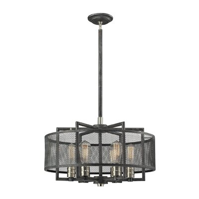 Slatington 6-Light Drum Chandelier