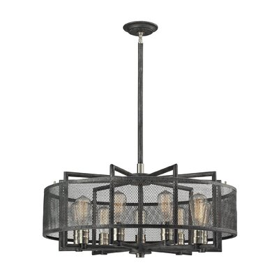 Slatington 9-Light Drum Chandelier