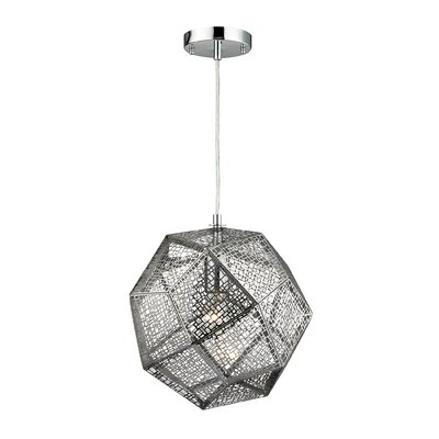 Roxa 1-Light Globe Pendant