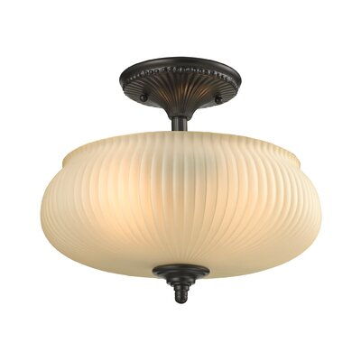 Park Ridge 2-Light Semi Flush Mount