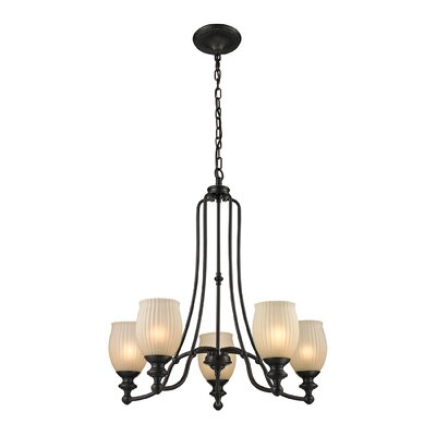 Park Ridge 5-Light Shaded Chandelier