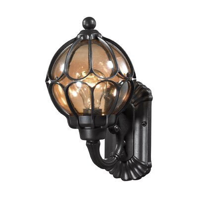 Madagascar 1-Light Outdoor Barn Light Size: 13 H x 7 W x 7 D